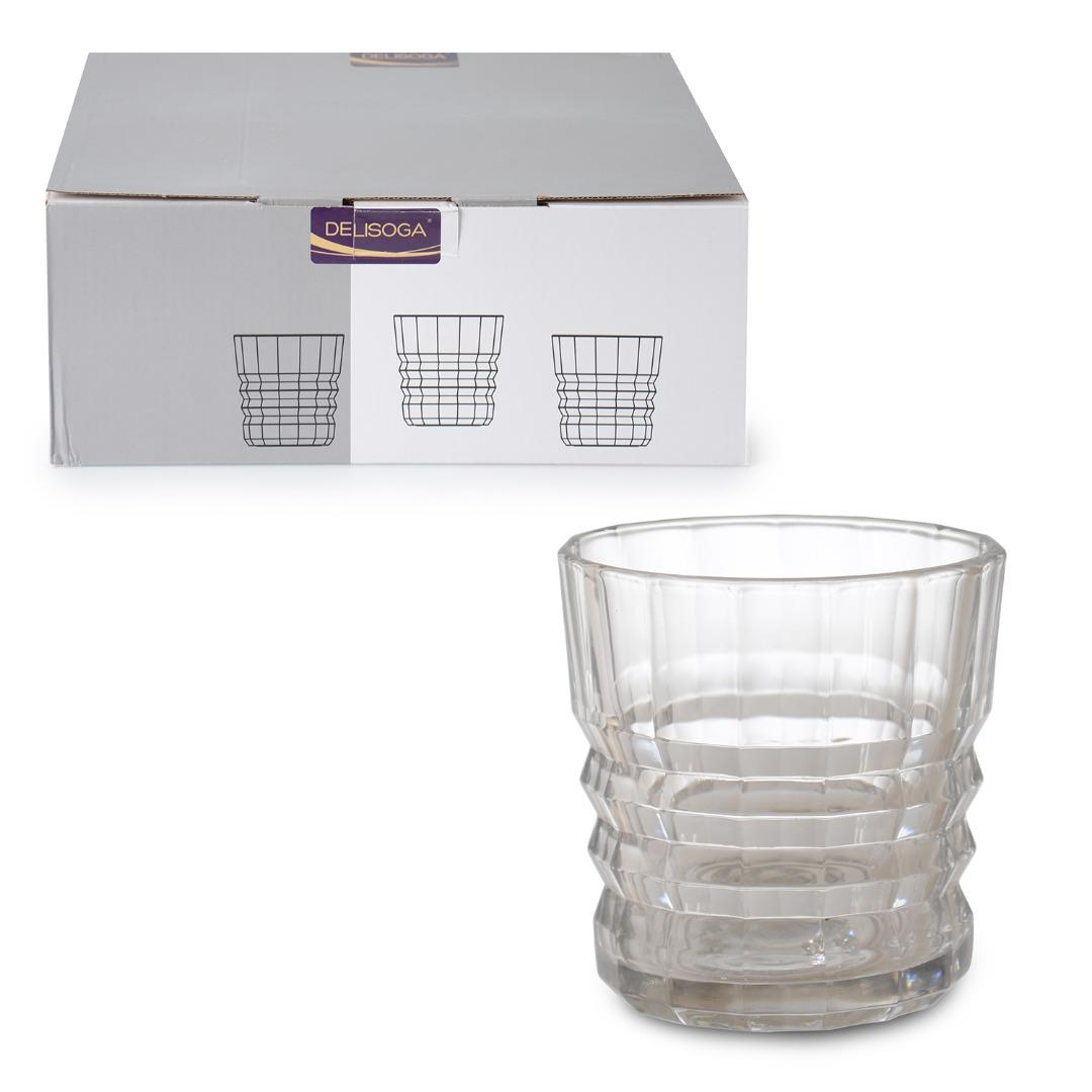 GLASS CUP OF 6 300 ML