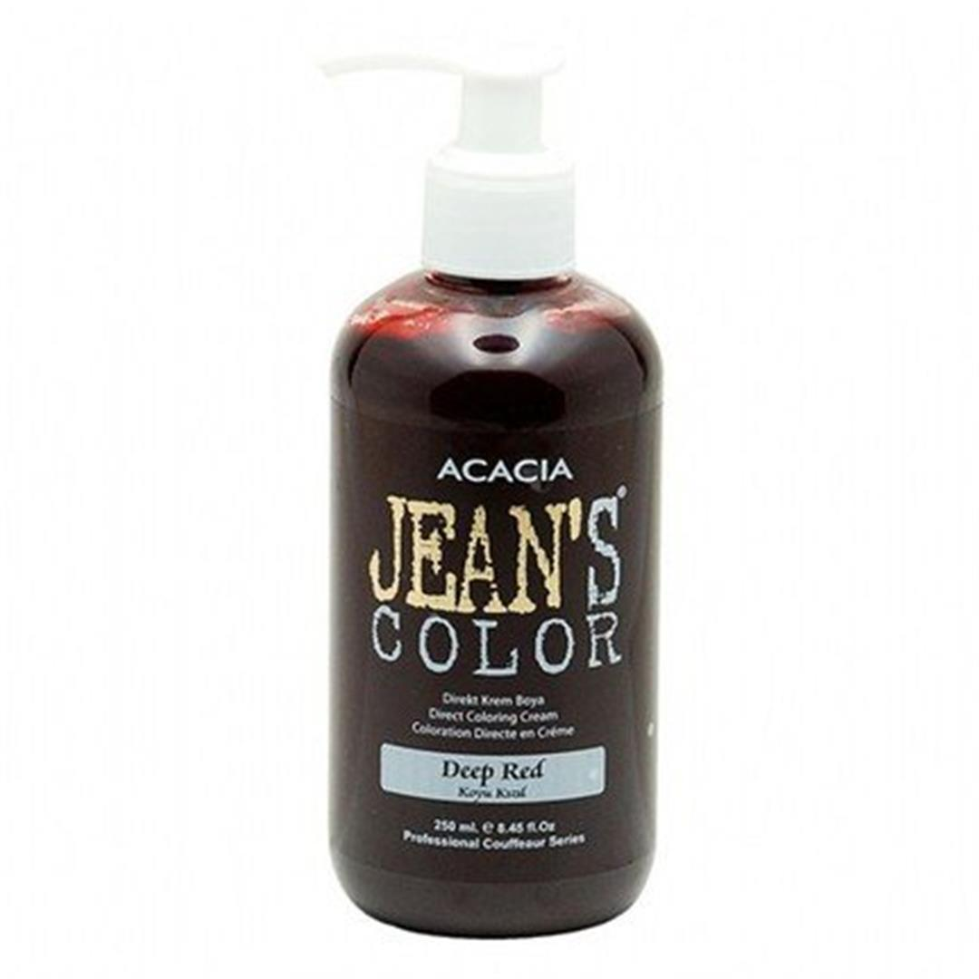 Acacia Jeans Color Saç Boyası Deep Red 250 Ml