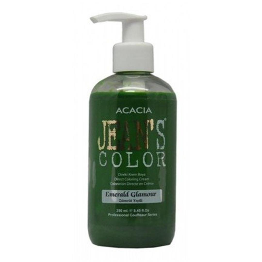 Acacia Jeans Color Hair Color Emerald Green 250 Ml