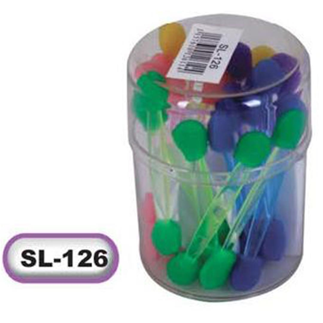COLORED APPLICATOR JAR