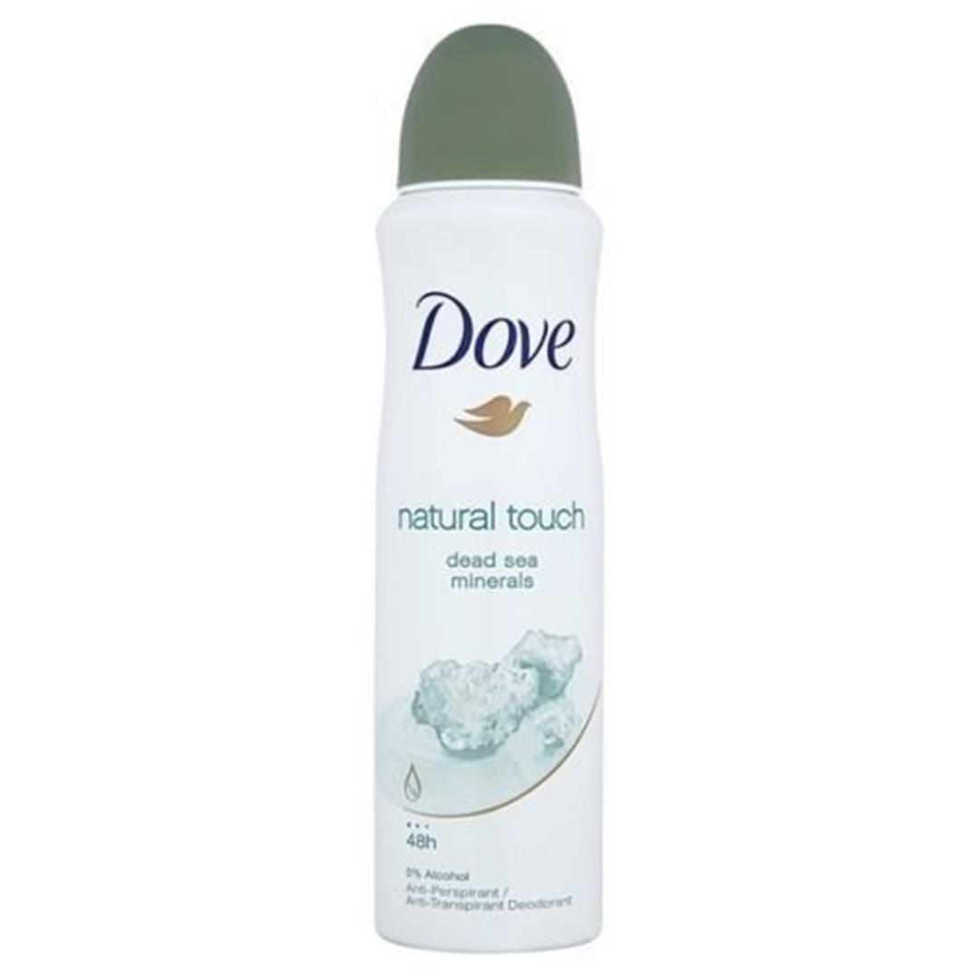 Dove Natural Touch Dead Sea Minerals Deodorant 48h Spray 150 ml