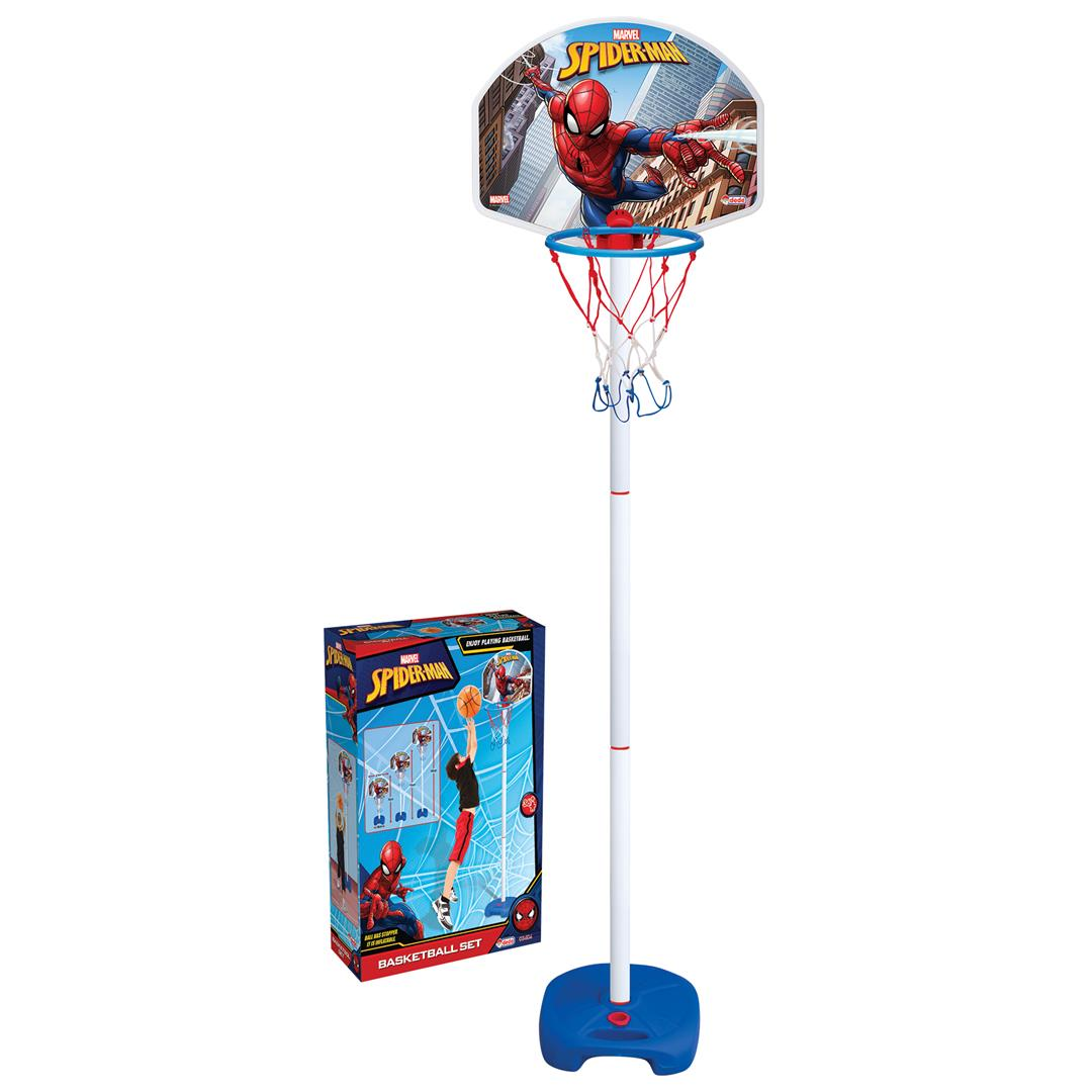 SPIDERMAN AYAKLI BASKETBOL SET