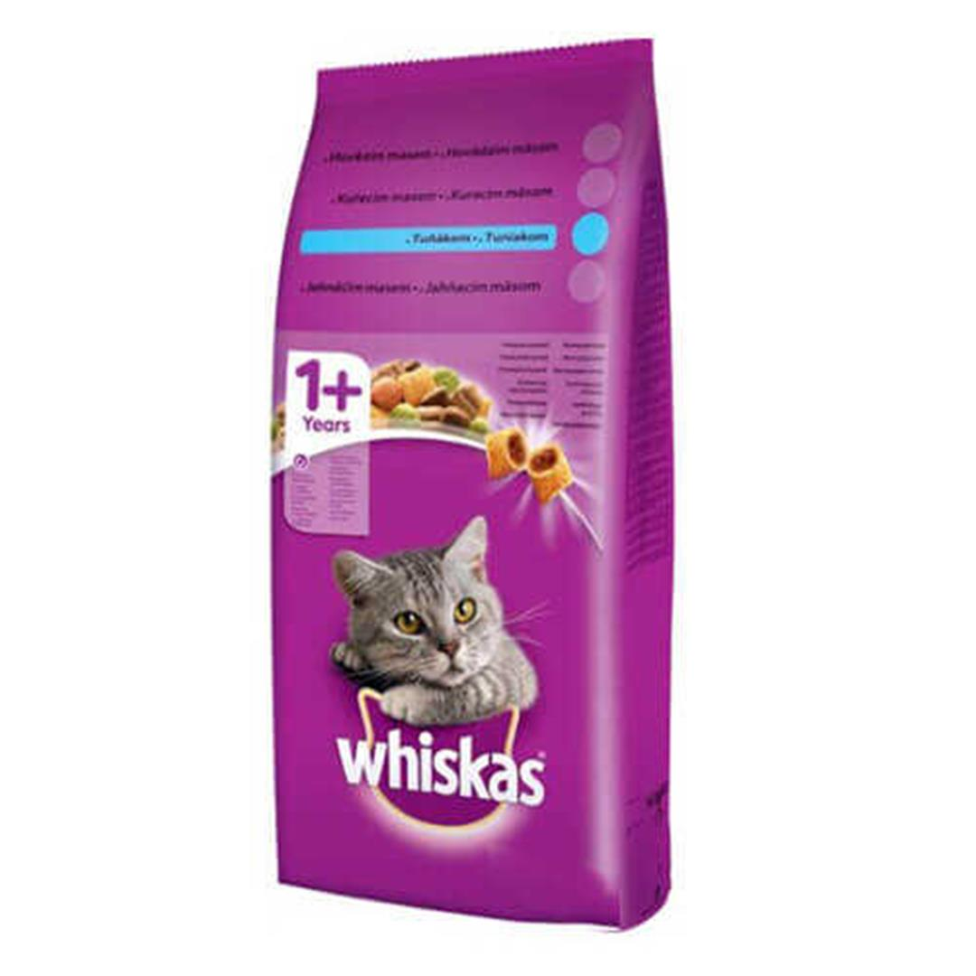WHISKAS TON ADULT DRY CAT FOOD WITH FISH AND VEGETABLES 14 KG