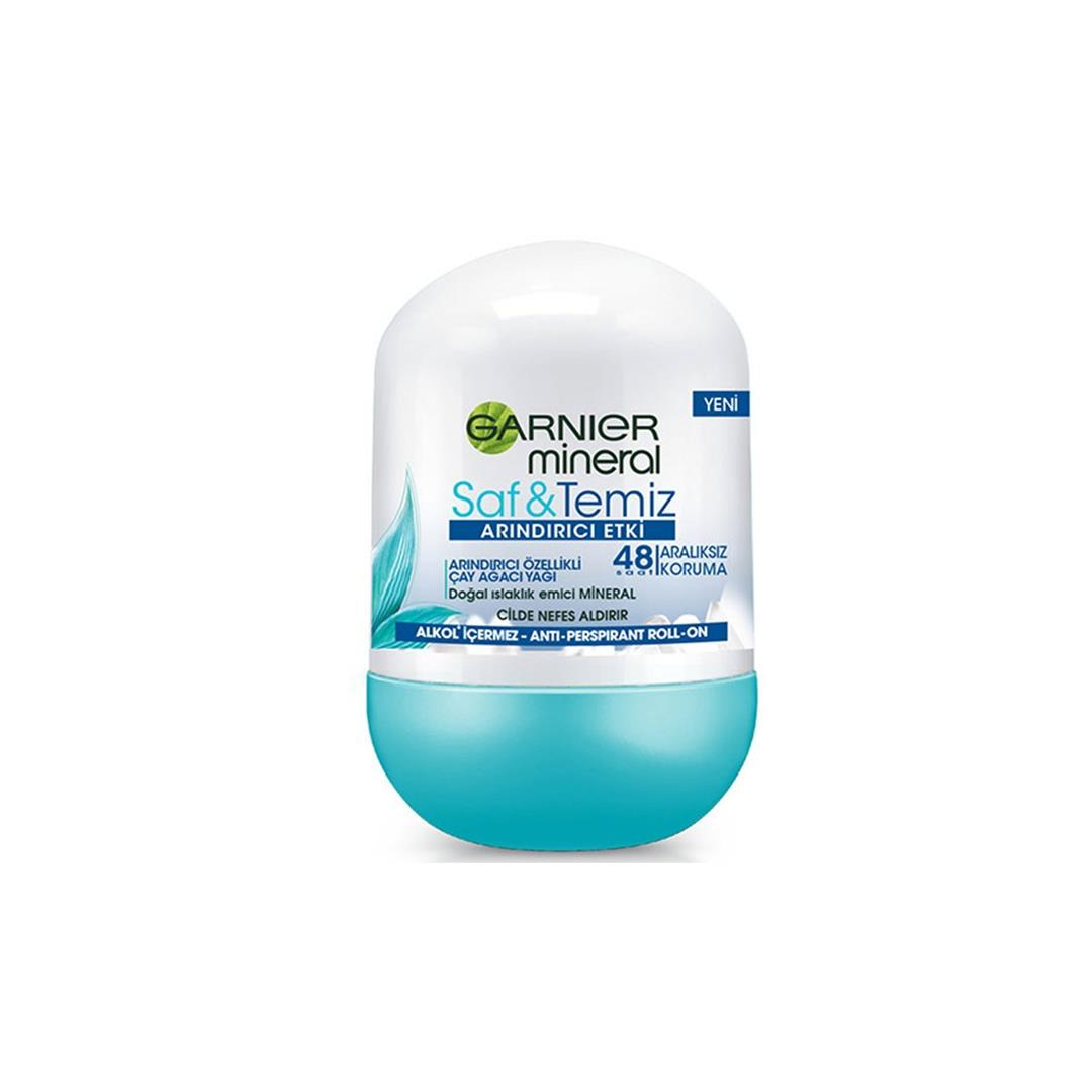 Garnier Mineral Pure Cleaning Women Roll On 50 Ml
