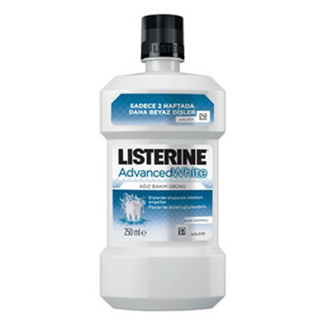 LİSTERİNE ADVANCED WHİTE GARGARA 250 ML