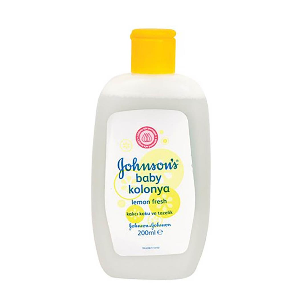 Johnsons Baby Lemon Fresh Kolonya 200 Ml