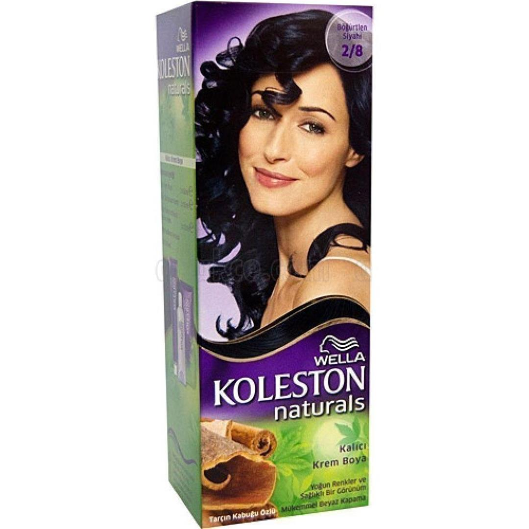 Koleston Naturals Kit 2.8 Böğürtlen Siyah