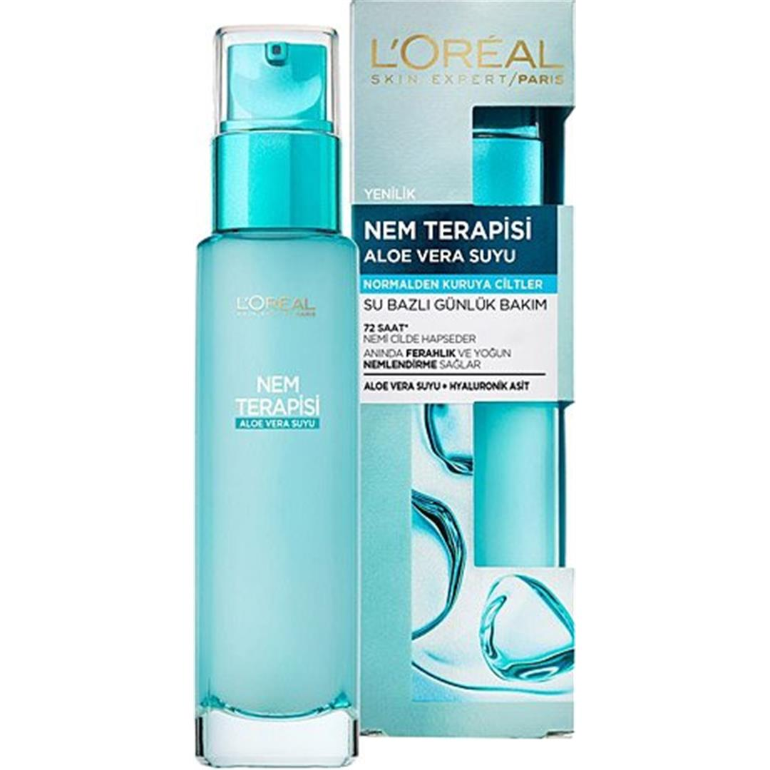 Loreal Paris Moisture Therapy Aloe Vera Juice For Normal to Dry Skin