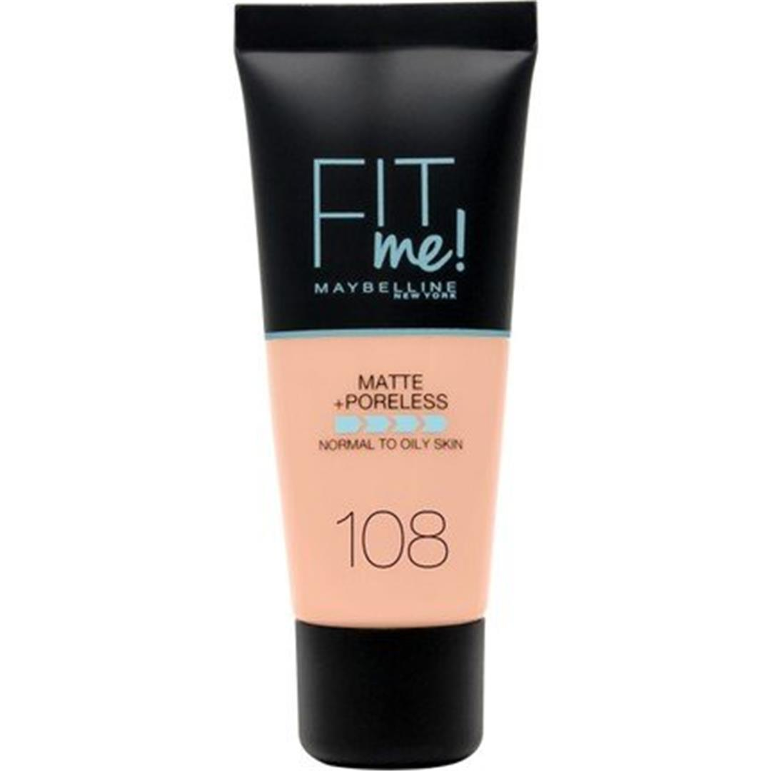 Maybelline New York Fit Me Matte Poreless Fondöten 108 Rose