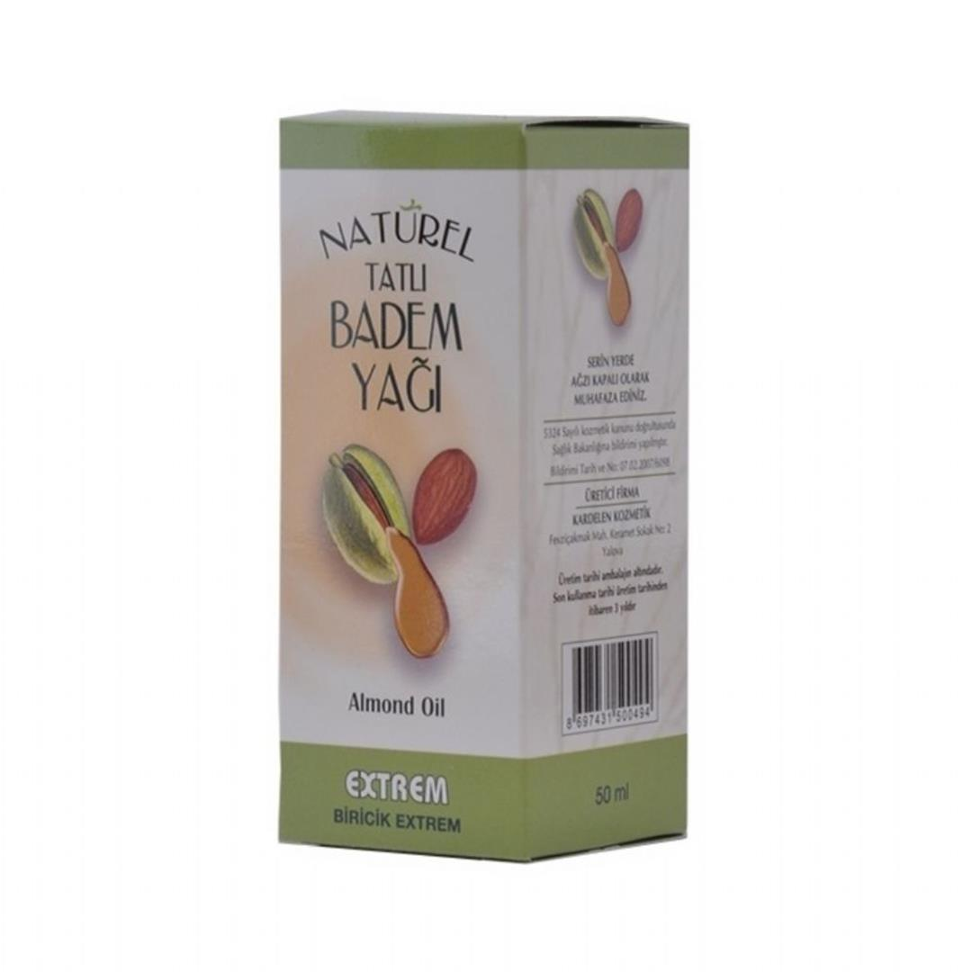 Naturel Badem Yağı 50 Ml