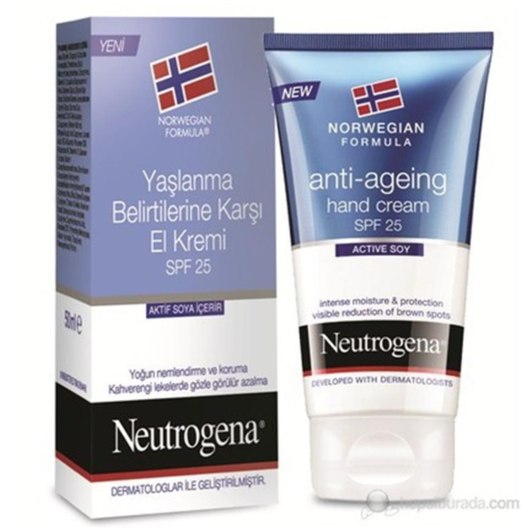 NEUTROGENA HAND CREAM 75ML ANTI AGE