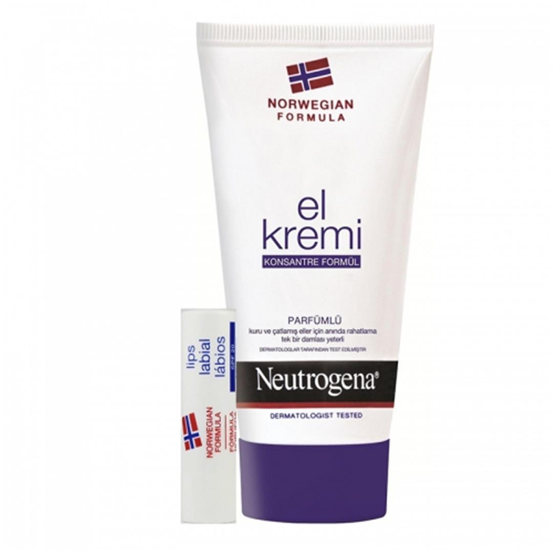 NEUTROGENA PERFUMED HAND CREAM LIP