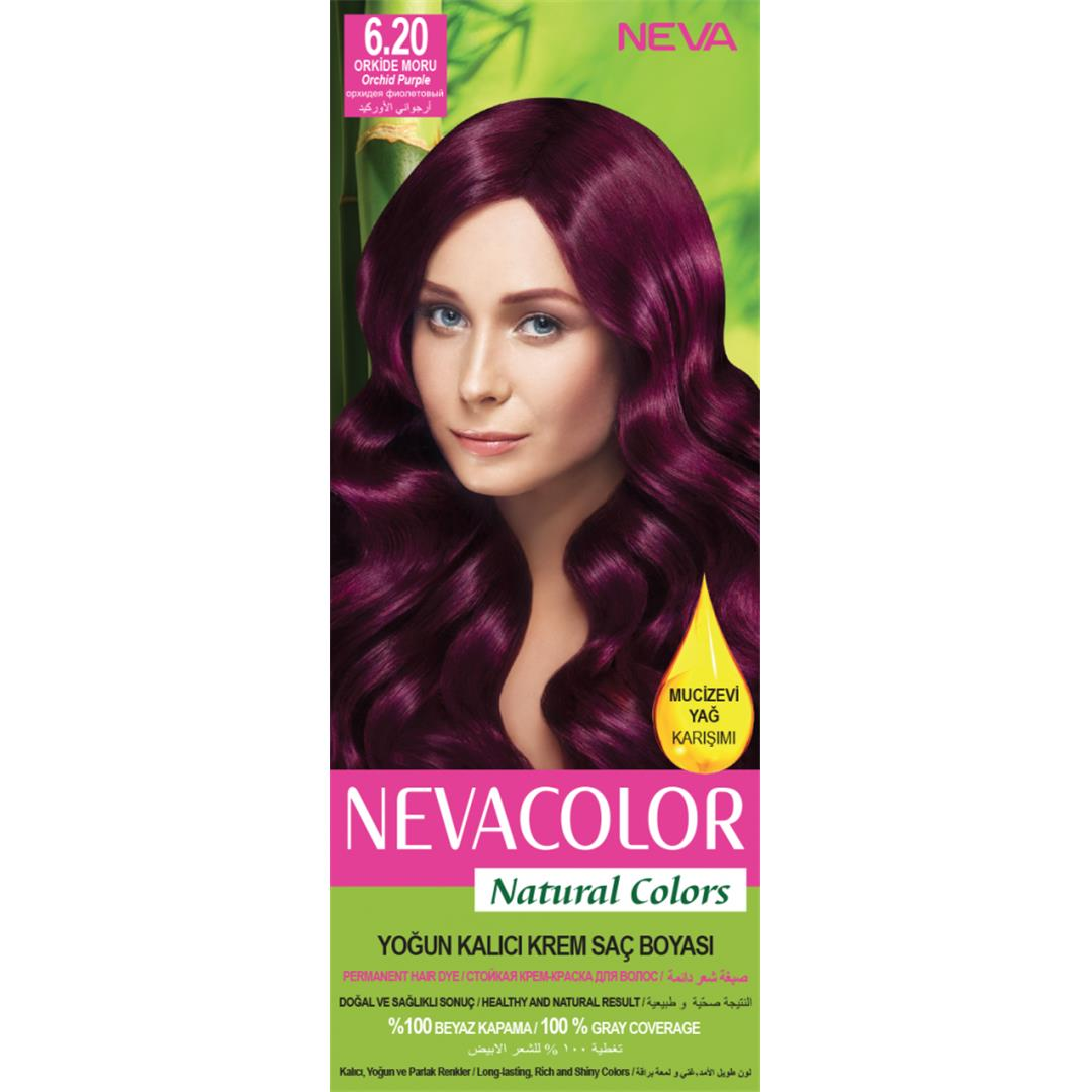 Neva Color Natural Set Boya 6.20 Orkide moru