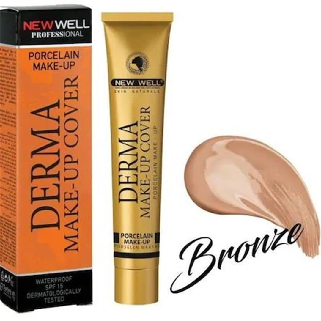 New Well Foundation Cover Make Up 02 Bronze