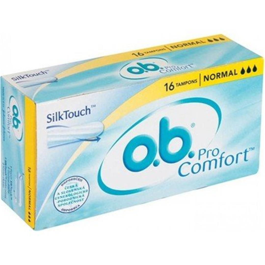 O.B. Tampon Comfort Normal 16'lı