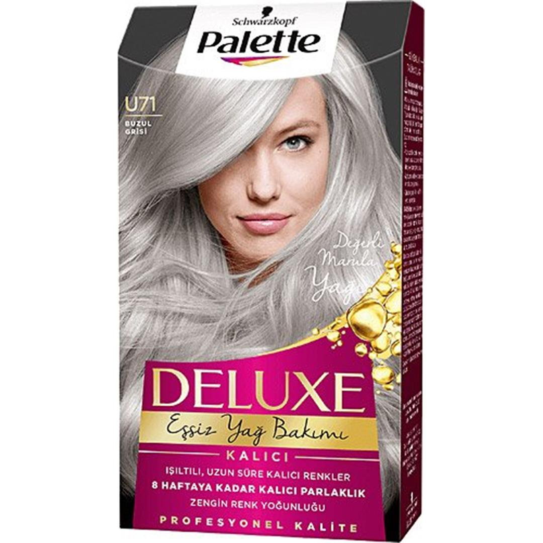 Palette Deluxe Hair Color Glacier Gray U71
