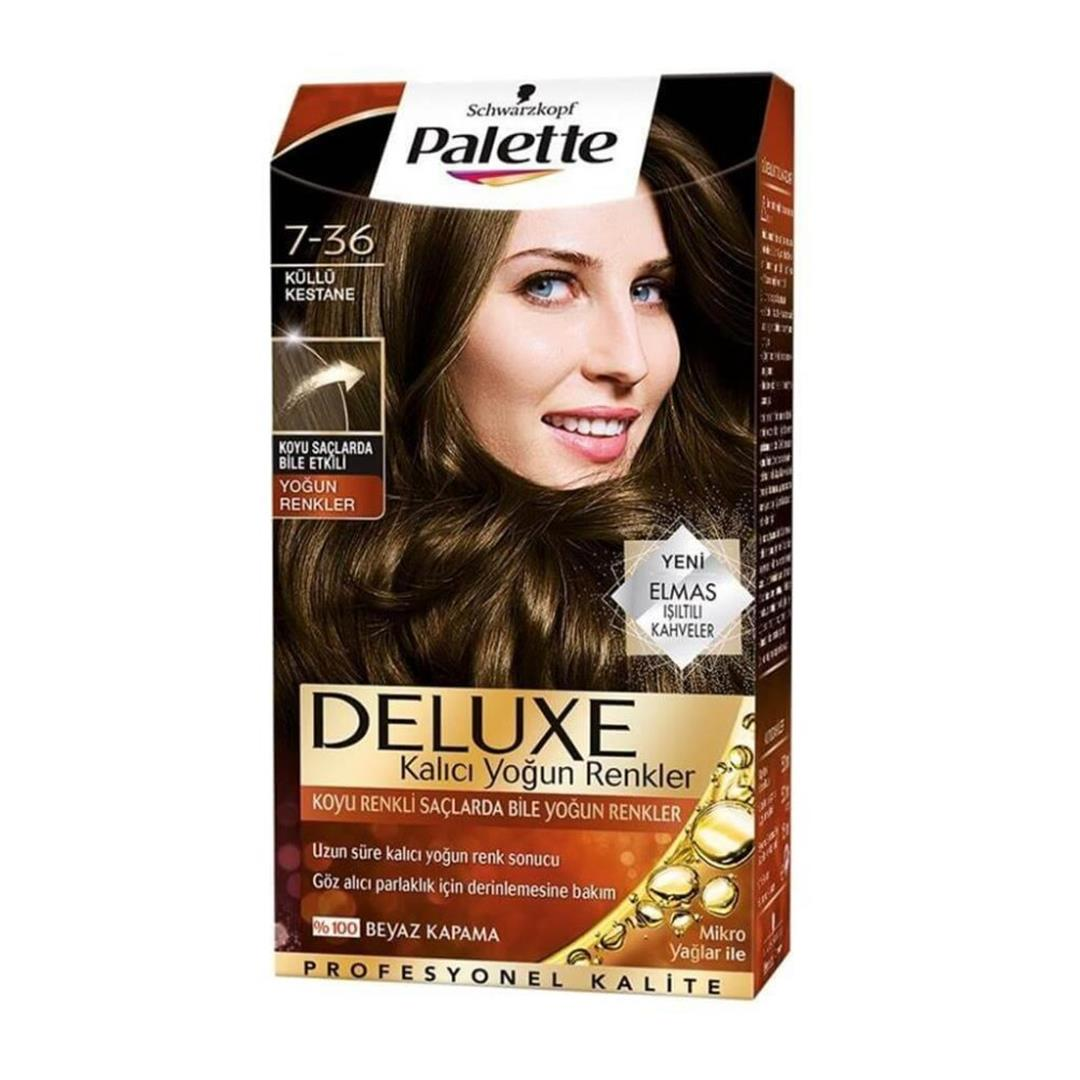 Palette Deluxe 7.36 Ash Brown Hair Color