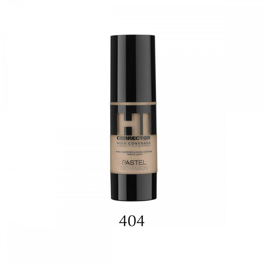 Pastel High Coverage Likit Fondöten 404