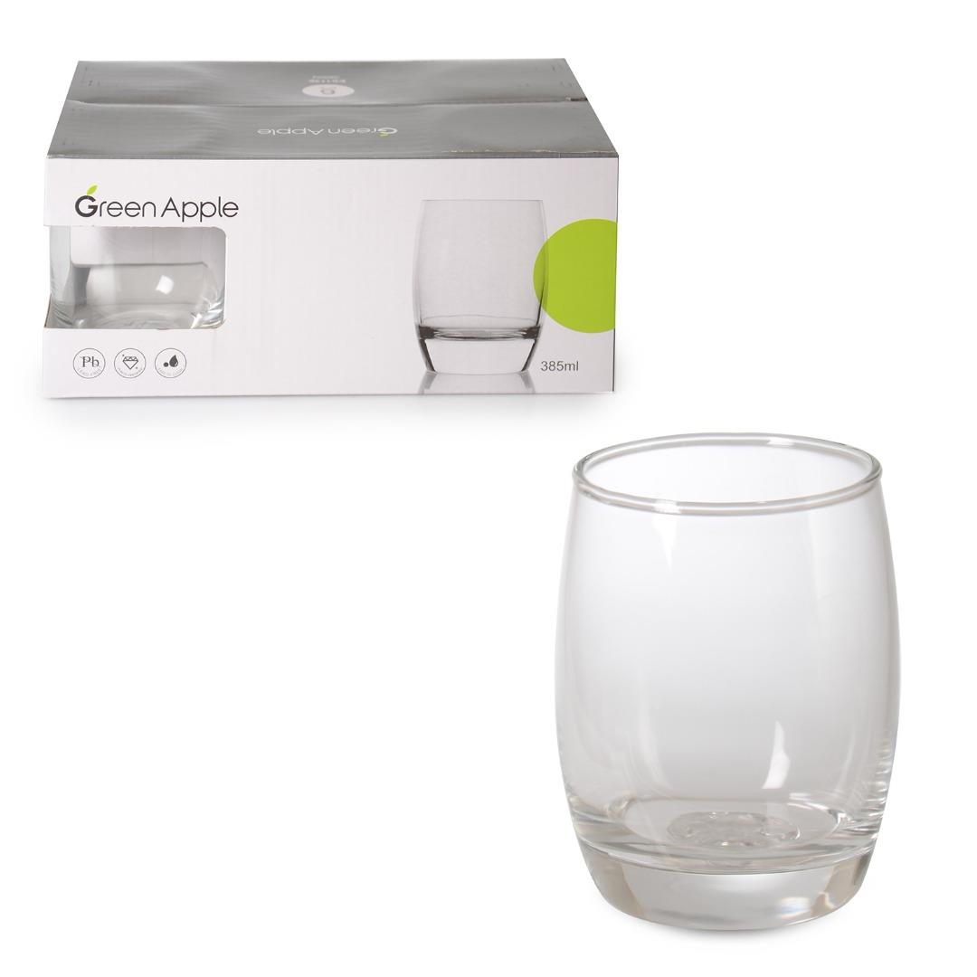 6-GLASS WATER CUP 360 ML