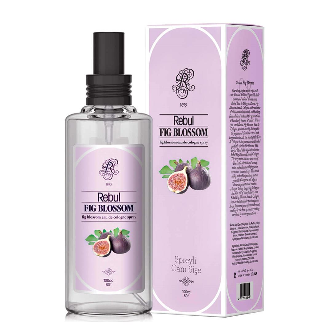 Rebul Fig Blossom Spray Cologne 100 Ml