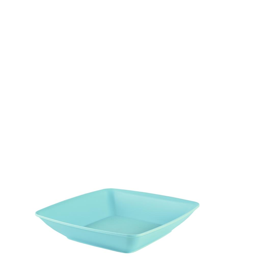PLASTIC SQUARE DINNER PLATE