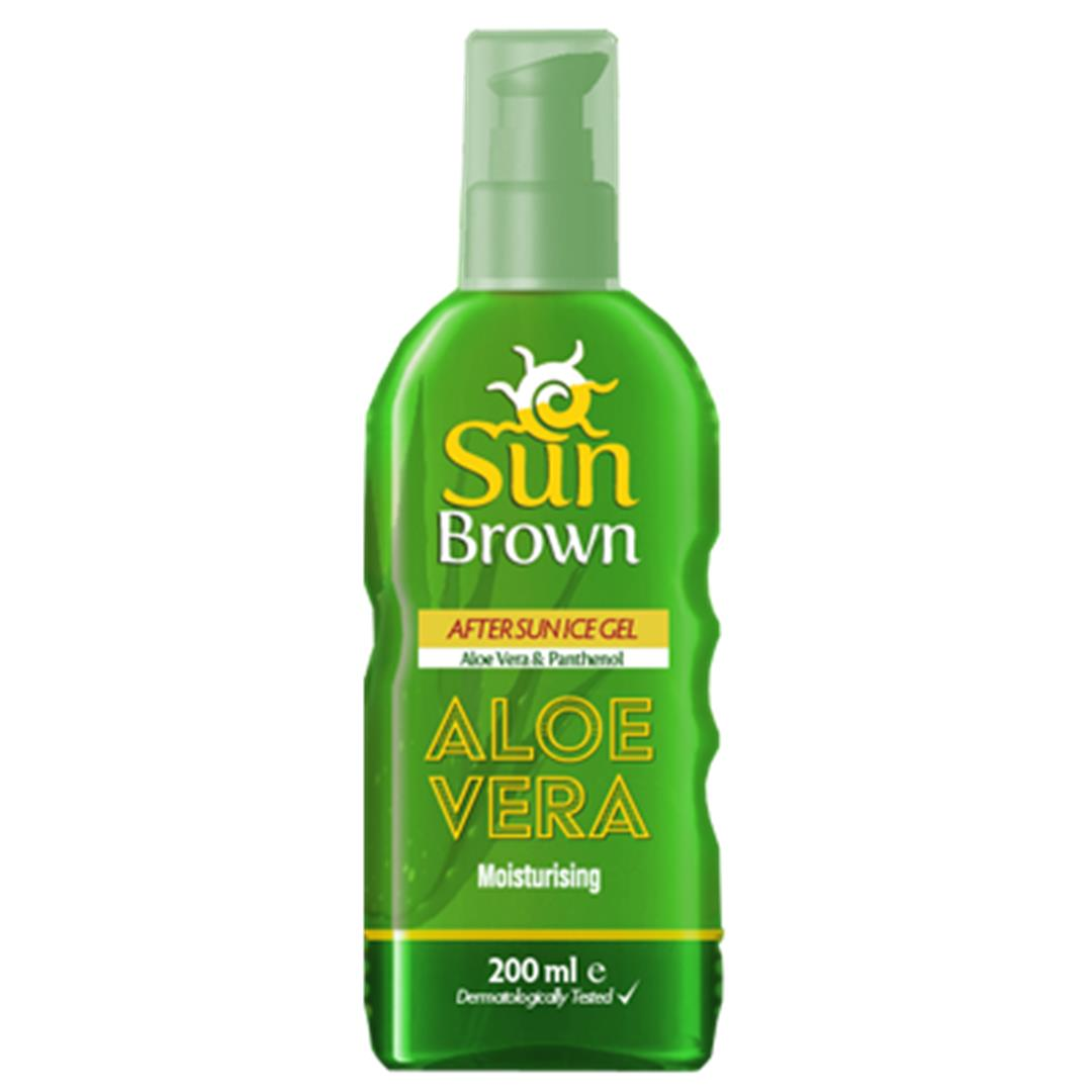 Sun Brown After Sun Gel with Aloe Vera