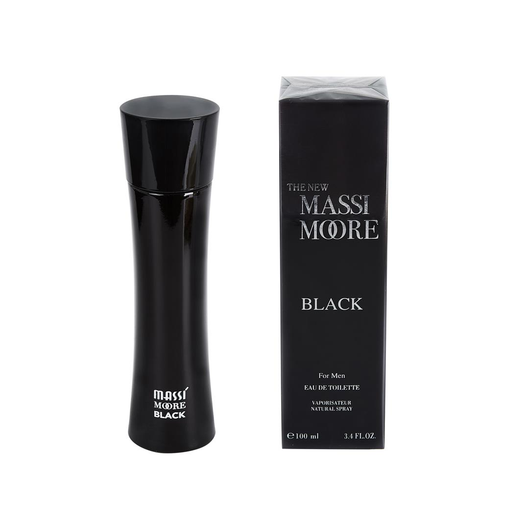 The New Massi Moore Black Erkek Parfümü 100 Ml