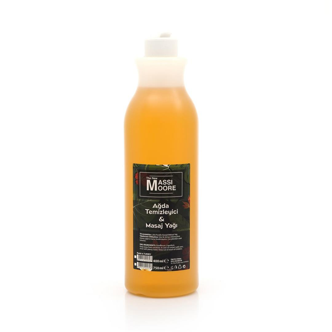The New Massimore Waxing Cleansing Massage Oil Orange 750 Ml
