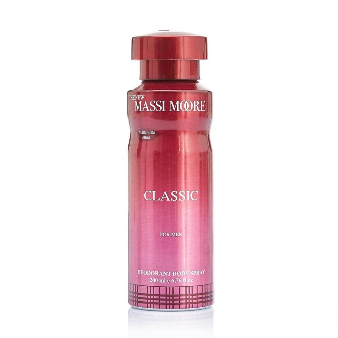 The New Massi Moore Classik Erkek Deodorant 200 ML