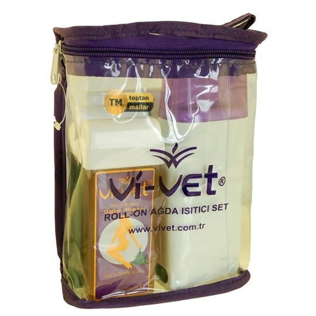 Vivet Roll On Wax Set With Heater