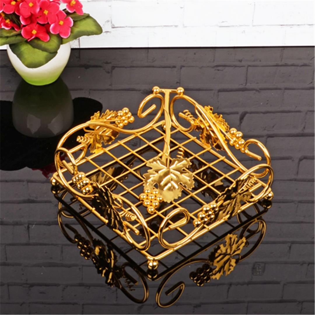 GOLD COVERED NAPKIN HOLDER