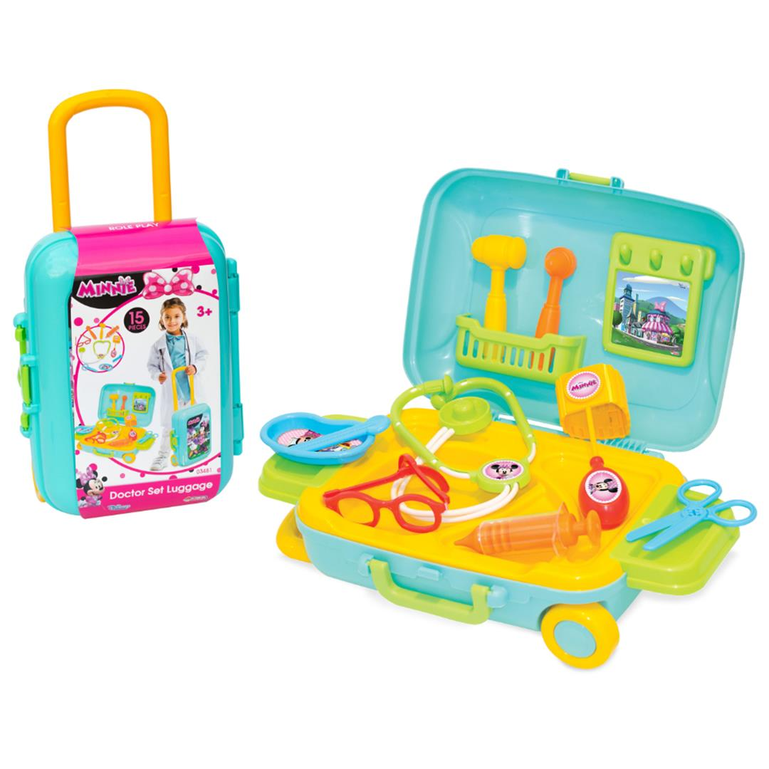 MINNIE MOUSE DOKTOR SET BAVULUM