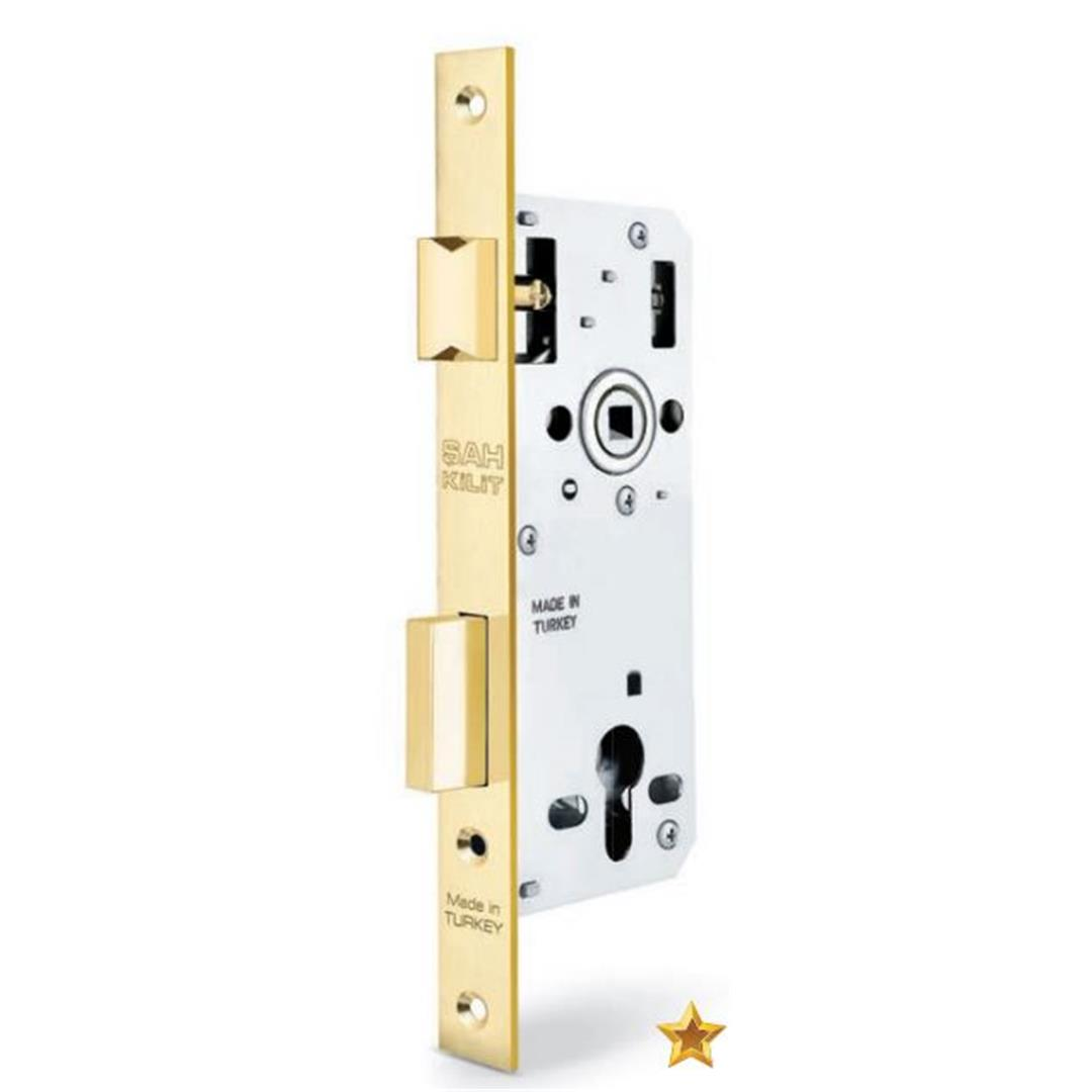 BEARING CYLINDER LOCK STRAIGHT MIRROR 45 MM