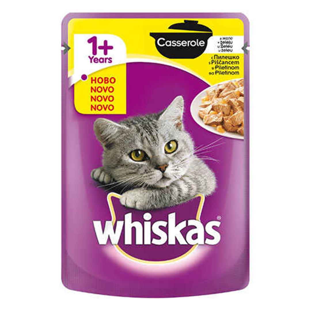 WHISKAS POUCH STEW CHICKEN SOUP