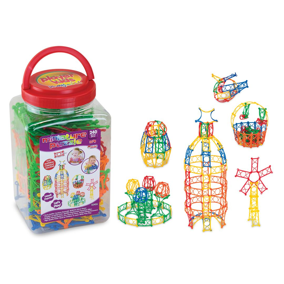 MINIATURE PUZZLE JAR 240 PIECES