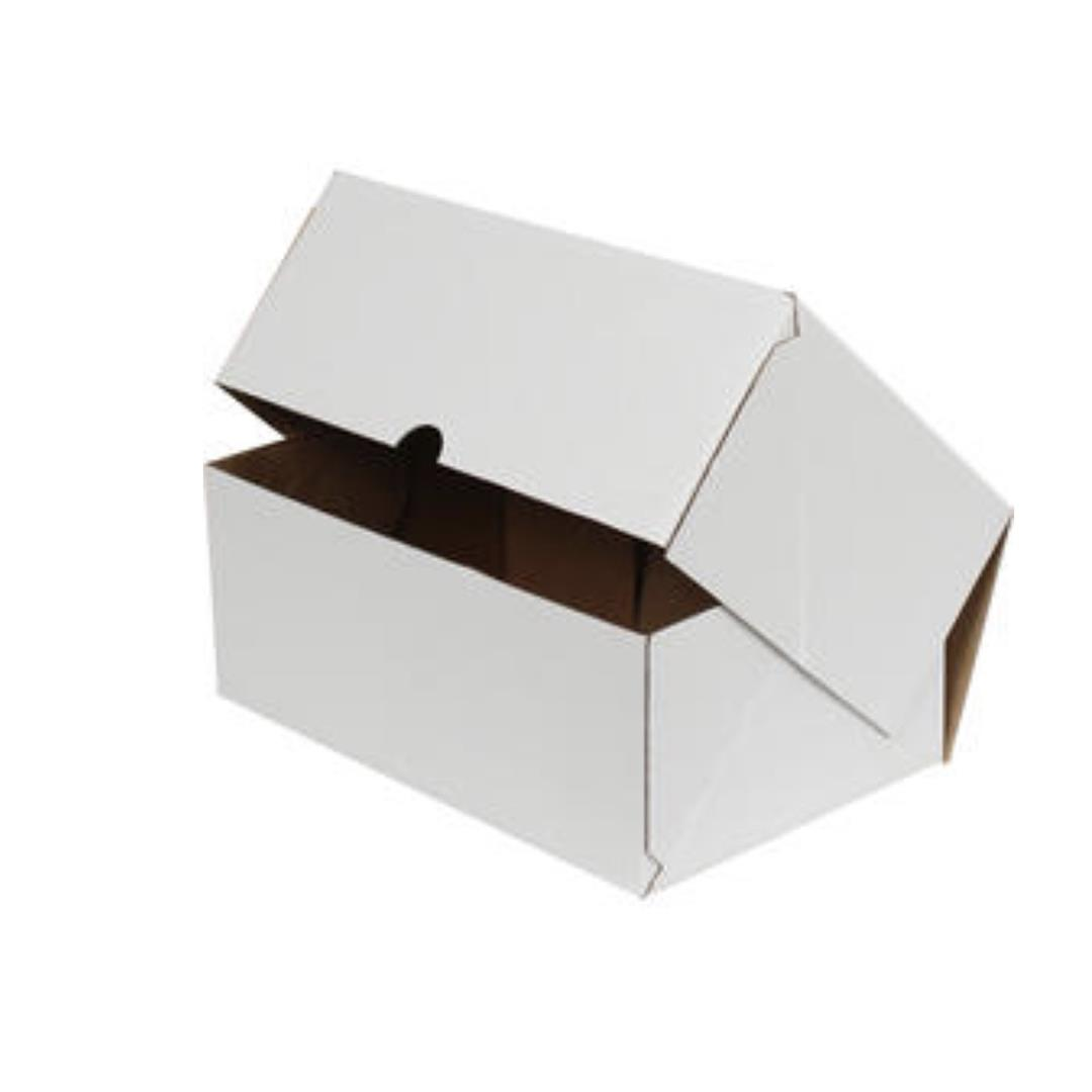WHITE E-COMMERCE CARGO BOX - 25x16x10 CM