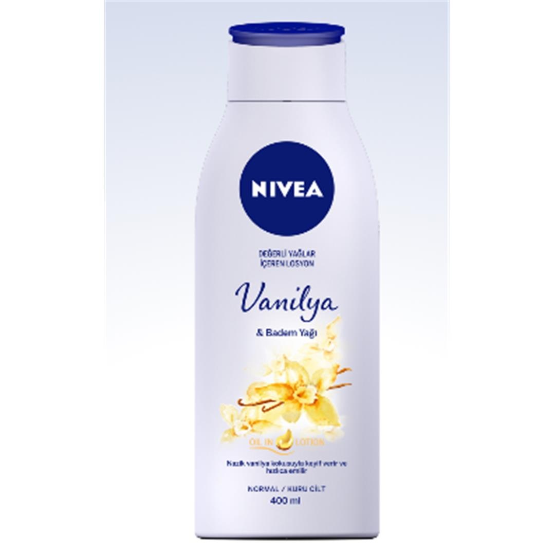 LOTION VANILLA & ALMOND OIL WITH VALUABLE OIL 400 ML