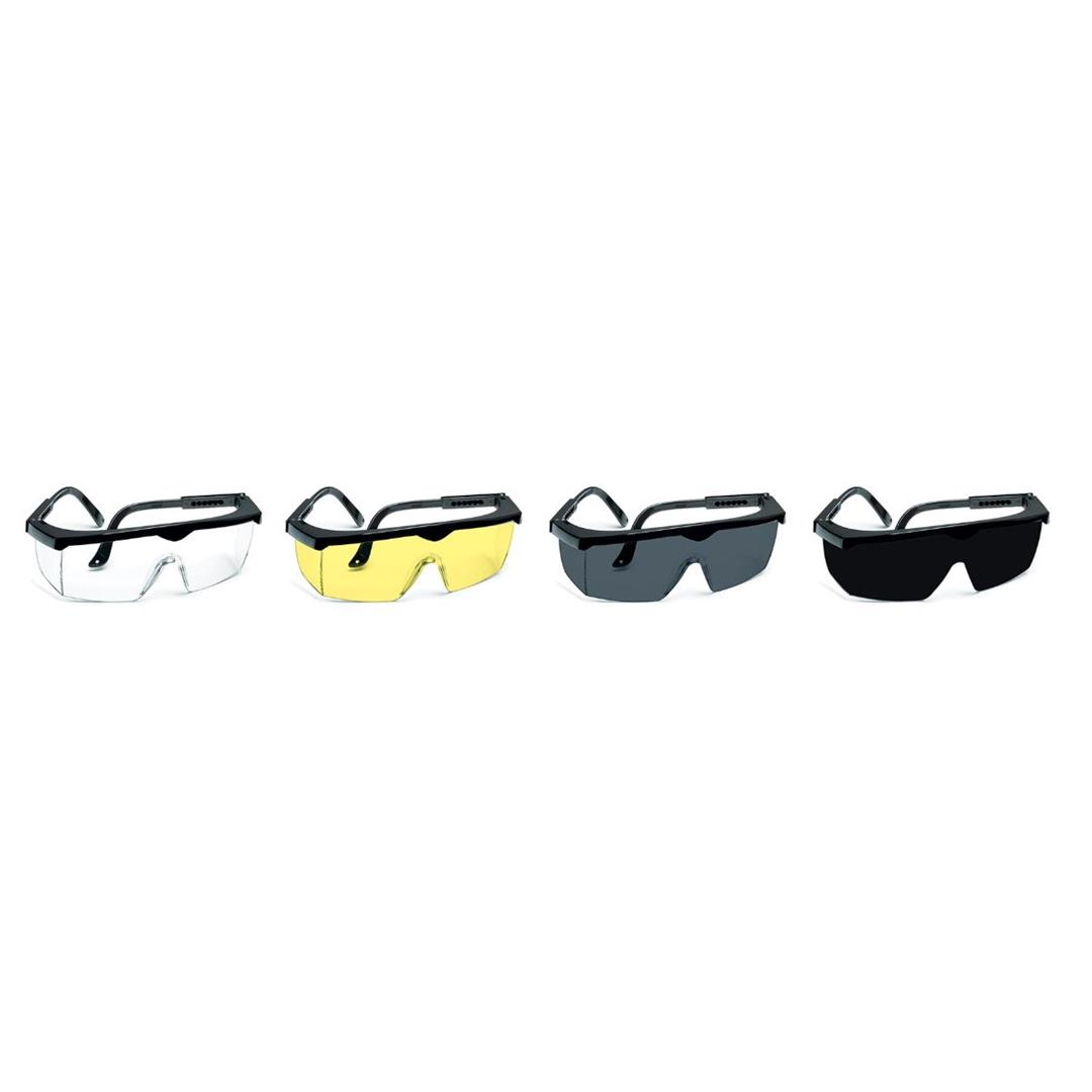 12-PIECE CLASSIC PROTECTIVE GLASSES BLACK