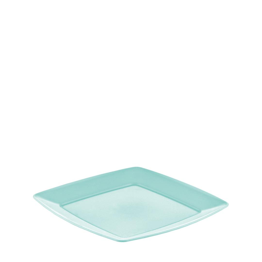 PLASTIC SQUARE SERVING PLATE