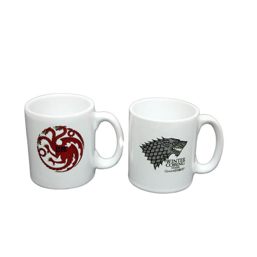 2-SET ESPRESSO CUP SET GAME OF THRONES