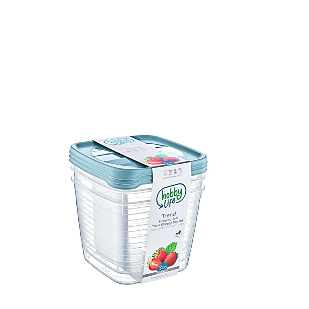 SQUARE TREND STORAGE CONTAINER 3x5,1 LITER