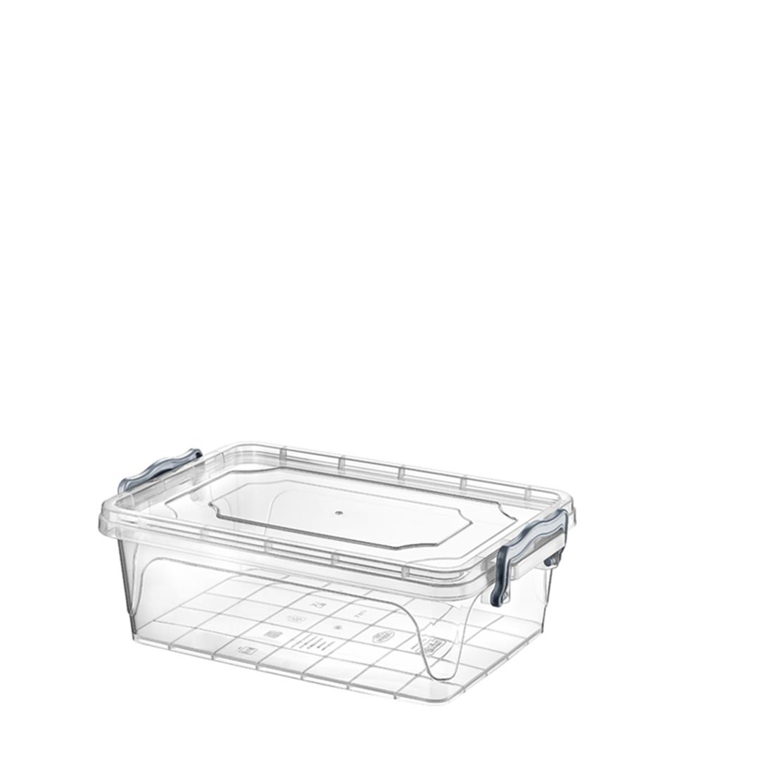 SHORT RECTANGULAR MULTI STORAGE CONTAINER 6 LITER