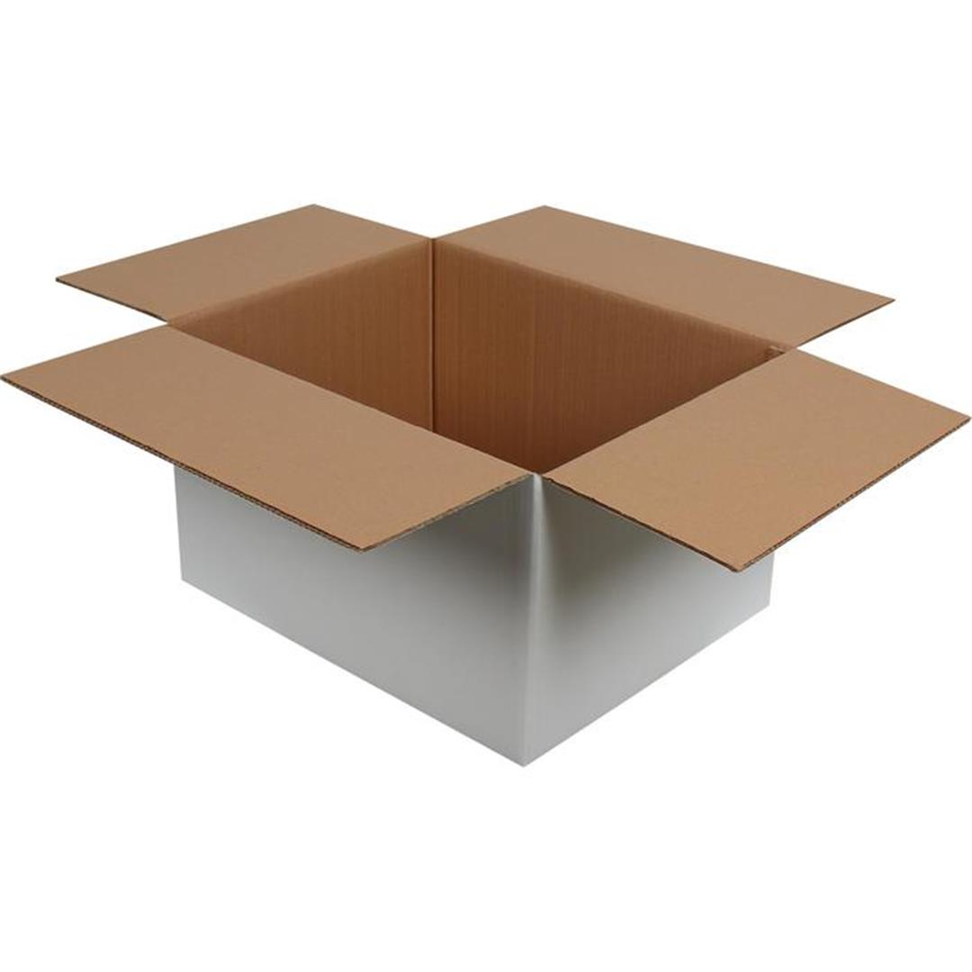 DOUBLE CORRUGATED WHITE PACKAGE - 50x40x30 CM
