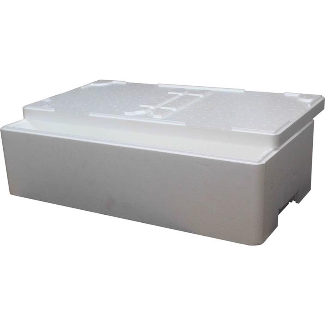 STYROFOAM MEAT AND FISH BOX - 20 KG